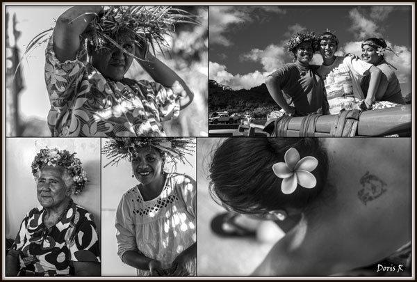 2.Vahinés de Huahiné et Tahiti